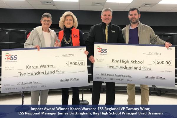 2018 ESS Impact Awards - Karen Warren - Bay