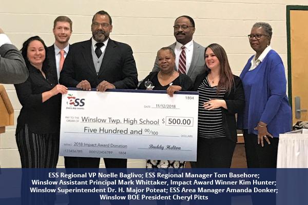 18IA_Kim Hunter Impact Award Winslow High School New Jersey