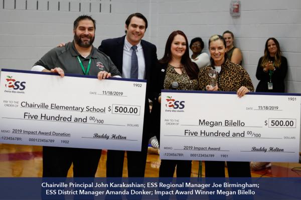 2019 ESS Impact Award Winner Megan Bilello