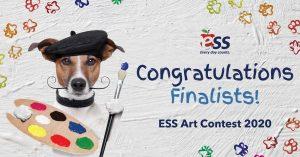 2020 ESS Art Contest Header