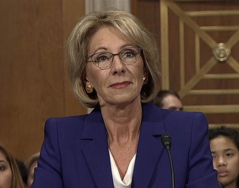 Betsy DeVos confirmed Education Secretary
