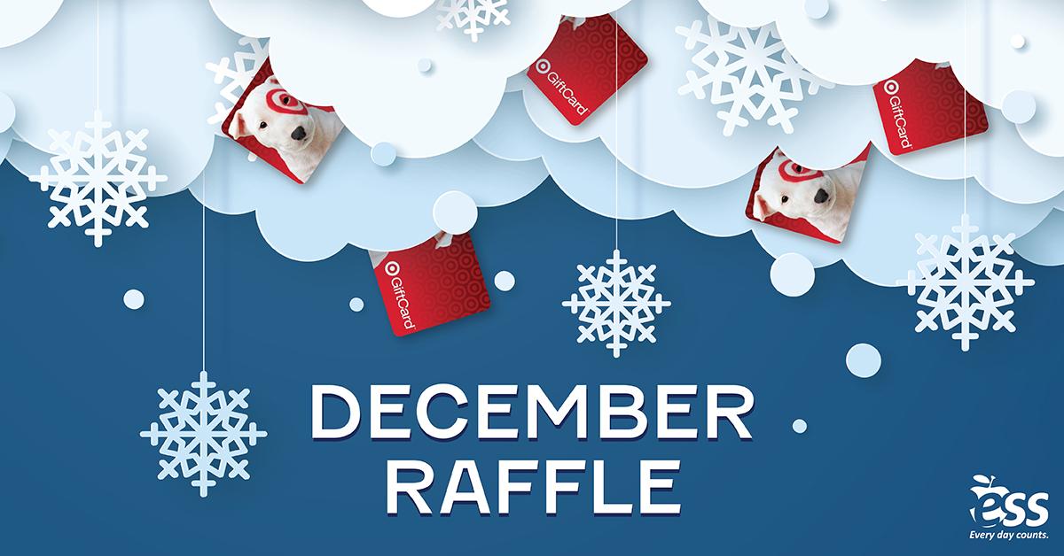 December Raffle Prizes
