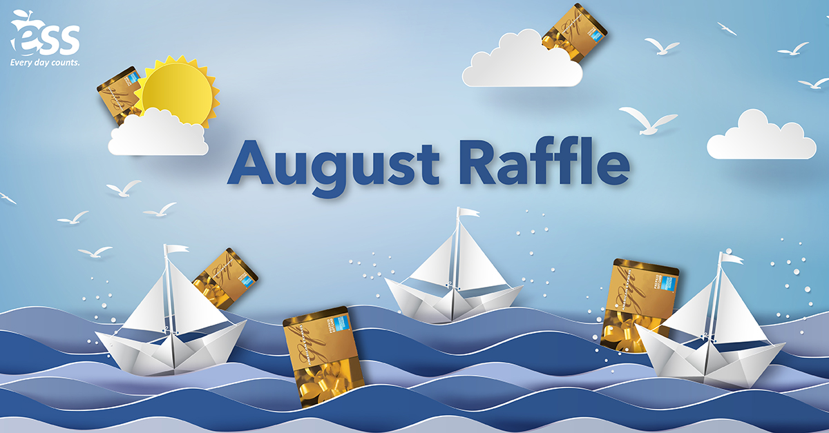 August Monthly Raffle Image
