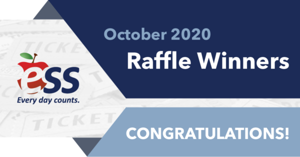 October 2020 Raffle Winners