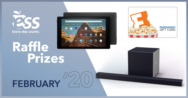 Work 5+ Days in February for a Chance to Win These Awesome Prizes