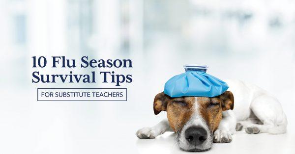 10 Flu Season Survival Tips for Substitute Teachers